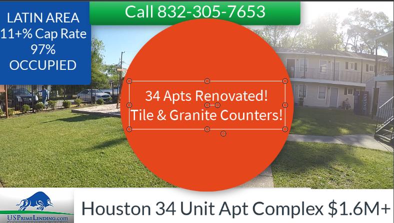 34 unit apt complex